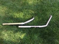 Vance and Hines exhaust pipes