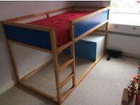 IKEA Kura bed children's reversible single
