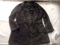 New look ladies coat size16 used £3