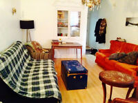 Room in big 6 1/2 - June 1st - $500 - Plateau / Mile End
