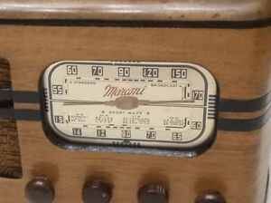 Antique Marconi Radio