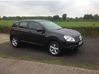 2007 Nissan Qashqai 1.6 visia black full mot good condition inside and out
