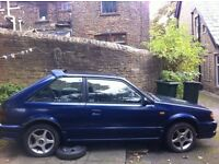 RARE Mazda 323 1.6 TURBO Petrol, Excellent runner, great project hobby racer. subaru evo gt