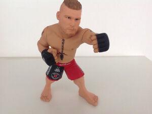 UFC figures Brock Lesnar, Anderson Silva, Dana White, Ariany