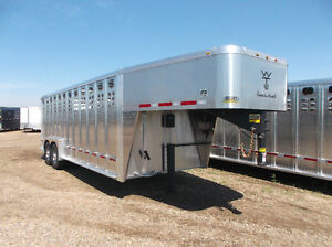 HUGE SELECTION OF HORSE/STOCK TRAILERS AT A BETTER USD EXCHANGE!