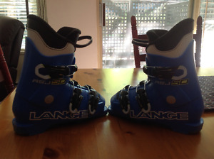 KIDS SKI BOOTS - Lange RSJ 50 - Size 19.5 - used only 1 season