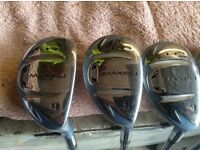 Lady's golf clubs