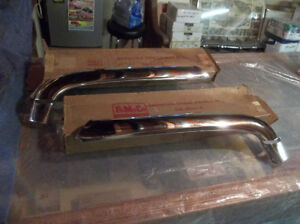 1950 Ford N.O.S. grille mouth bars ..... still in original boxes