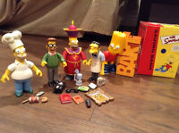 Simpsons figures and bank