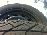 BMW winter tires and rims $225/4