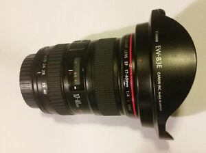 Canon 17-40 F4 l lens in great shape, wn't last long!