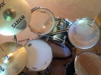 8 Piece Drum Kit with Accessories