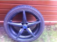 Ford fitment 19 inch oz alloys