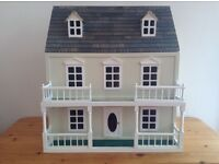 Furnished Doll House in Very Good Condition