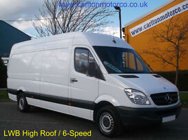 2009/59 Mercedes Sprinter 311CDI LWB High Roof Panel van