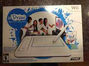 NEW U DRAW TABLET FOR Wii