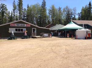Seasonal Store and Restaurant at Emma Lake