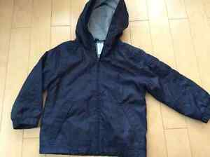 Gymboree XS fleece lined navy jacked London Ontario image 1