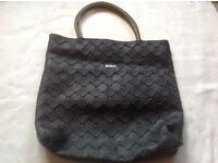 Mango ladies handbag with zipper used £3