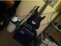 Yamaha rgx 312 with laney rh40 amp