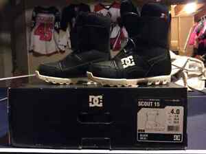 Boys DC Scout 15 Snowboarding Boot - size 4.  $45.00