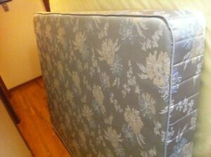 Double box spring and mattress