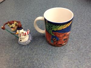 Tasmanian Devil Coffee Mug & Christmas Ornament