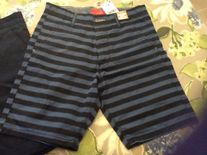 3 pairs of BOYS size 12/14 chino shorts new with tags