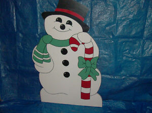 Wooden Christmas Lawn Decorations /Ornaments London Ontario image 2