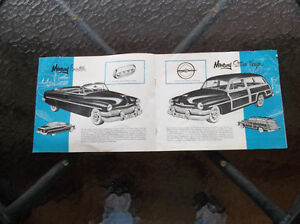 1951 Mercury dealer showroom catalog London Ontario image 3