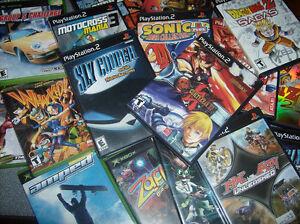 Jeux PS2 et X Box