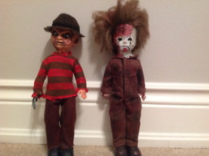 Living Dead dolls - Mike Myers and Freddy Krueger