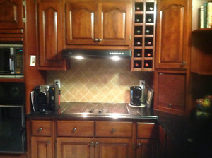 Kitchen Cabinetry Solid Cherrywood