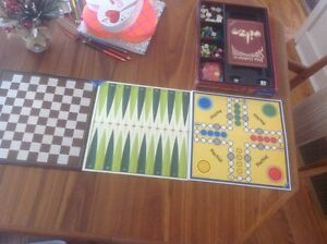 Ravensburger 6 games set 1974