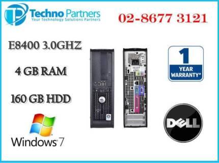 Dell Optiplex 760 Small Form Factor E8400 3.0GHz 4G 160G Win7 Pro
