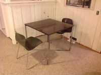 EQ3 Table with 2 Chairs