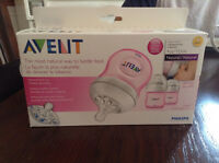 Pink avent baby bottles