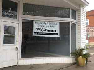 Commercial space downtown MARMORA utilities included