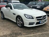 Delivery Available Stunning Mercedes Benz SLK 250 CDI Sport AMG Convertible Automatic FSH