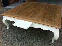 NEW FRENCH PROVINCIAL COUNTRY VINTAGE COFFEE OAK TABLE CHIC Chipping Norton Liverpool Area Preview