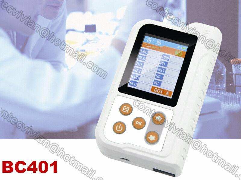 BC401 Bluetooth Portable Urine Analyzer,11 parameter +100 Test strip, Mobile app