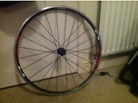 Racing bike wheel