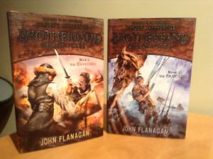 The Brotherband Chronicles by John Flanagan - hardcover