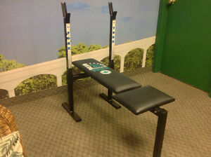 York adjustable bench / banc d'exercice. Made in Canada!