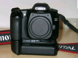 Canon EOS 30d with grip