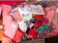 3-6 months girls clothes for sale