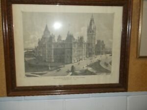 THE CANADIAN PARLIAMENT BUILDING'S