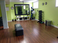 Women's only personal training studio in Orleans
