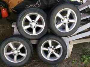 P-195/60/R15 (50% tread) Summer Tires, ($150 obo)