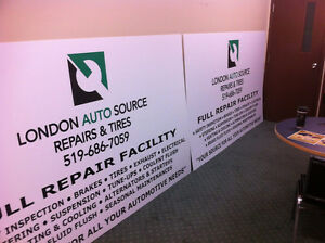 Store Signs, Vehicle Signs, Window Signs, Lawn Signs and more London Ontario image 5